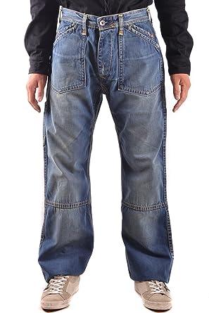 7117b70c62c4 Image Unavailable. Image not available for. Colour  Evisu Men s Mcbi338012o Blue  Cotton Jeans