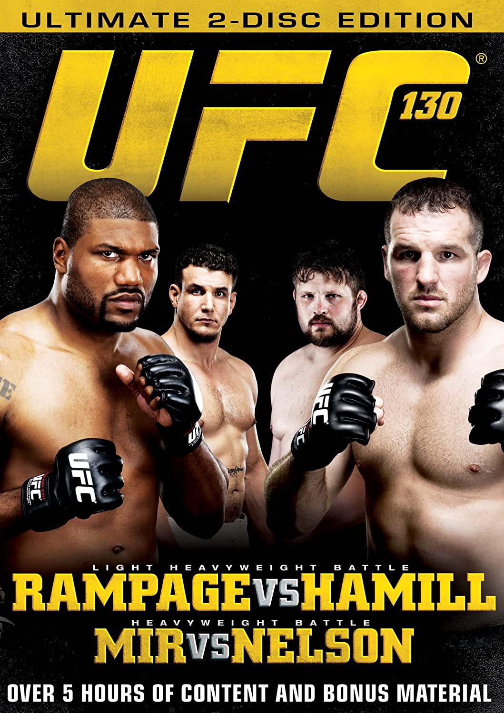 Amazon Com Ufc 130 Rampage Vs Hamill Quinton Jackson Matt