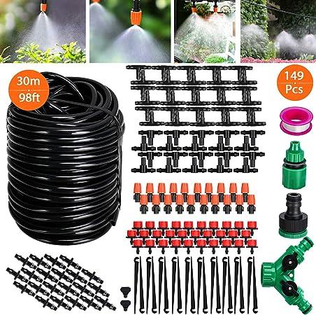 25 m À faire soi-même Micro Irrigation Goutte à Goutte Système plante automatique auto Arrosage Jardin Tuyau