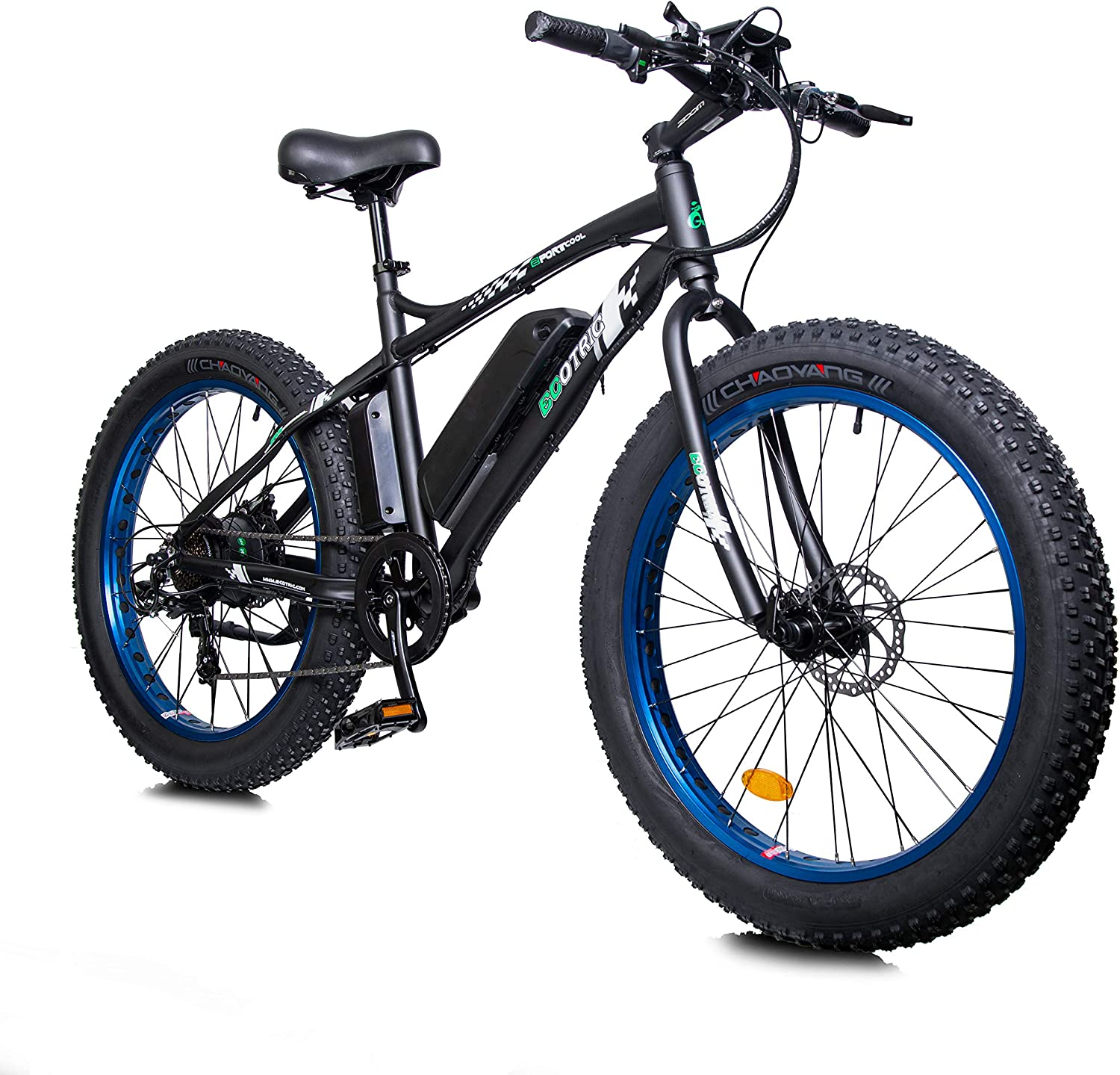 """ECOTRIC Electric Powerful Bicycle 26"""" Fat Tire Bike"""