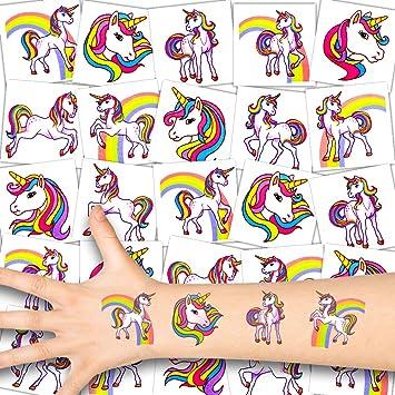 German Trendseller® - 72x Unicornio Niños Tatuajes ...