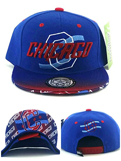 Amazon.com   City of Chicago New Youth Kids 3 Flag Cubs Colors Blue ... d48ddba5a7d