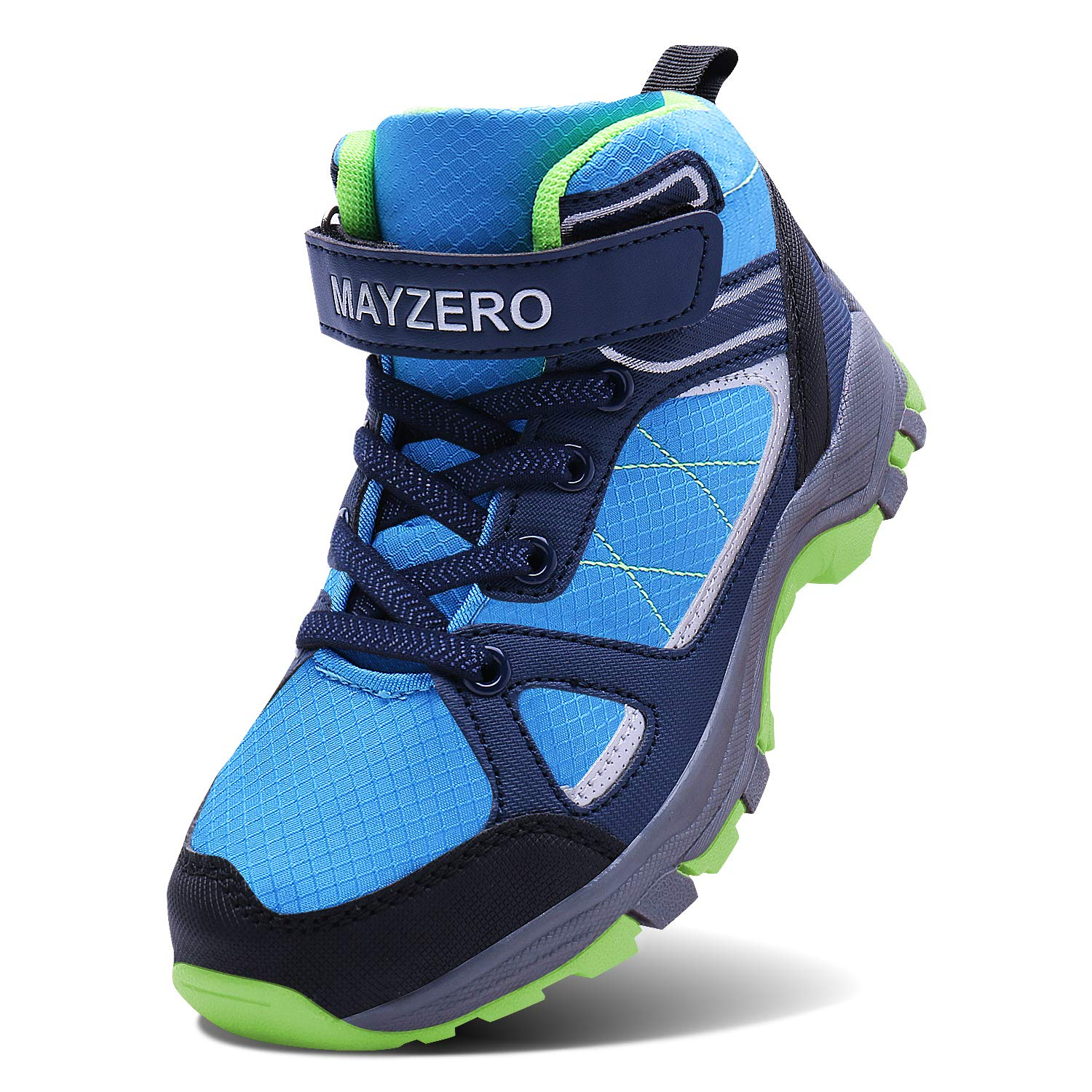 Caitin Kids Hiking Boots Lightweight Tennis Running Shoes Outdoor Athletic Sneakers for Boys and Girls
