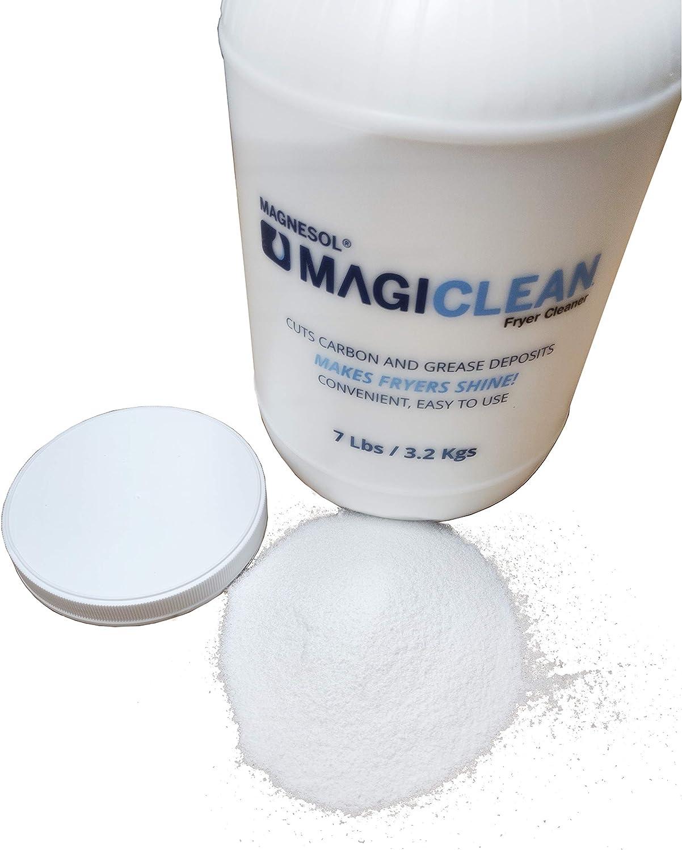 Magiclean Freidora Limpiador por Magnesol, polvo de limpieza para ...