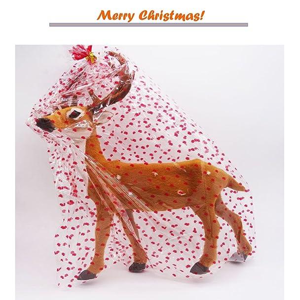Amazon.com: Reindeer Christmas Decorations Deer Christmas Elk Props ...