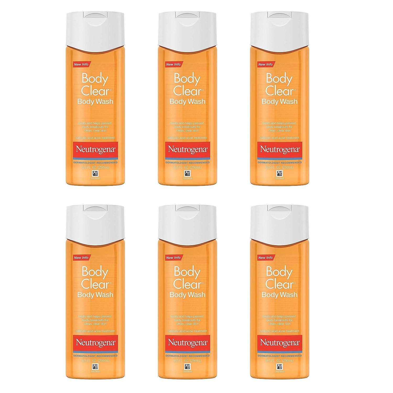 Amazon Com Neutrogena Body Clear Acne Body Wash With Glycerin