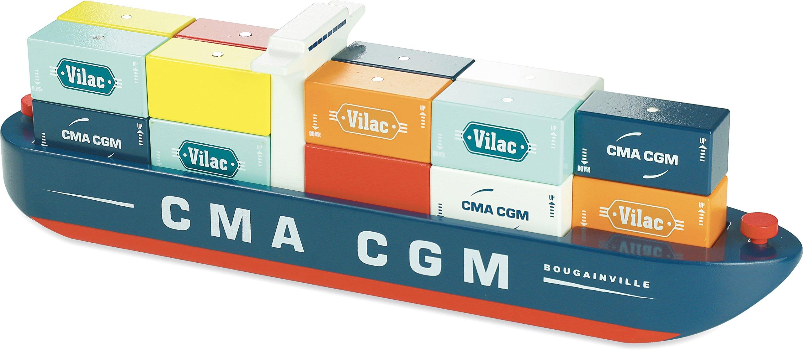 Vilac Vilac2356 Vilacity Container Ship