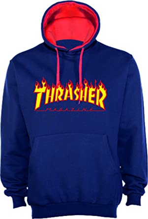 NADA Sudadera Replica Logo Thrasher (S)