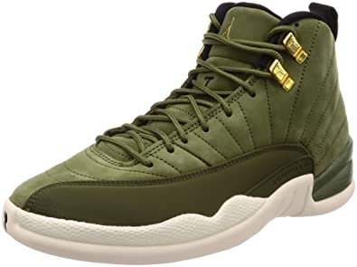 6a1c225d8151 Nike Men s Air Jordan 12 Retro Gymnastics Shoes  Amazon.co.uk  Shoes ...