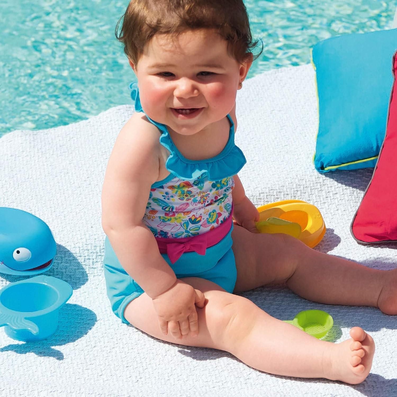Sterntaler M/ädchen Badeanzug Einteiler