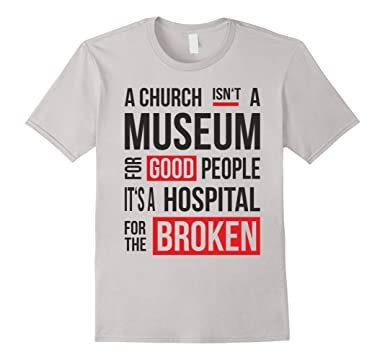 mens church is not a museum cool design faith t shirt 3xl silver - Church T Shirt Design Ideas
