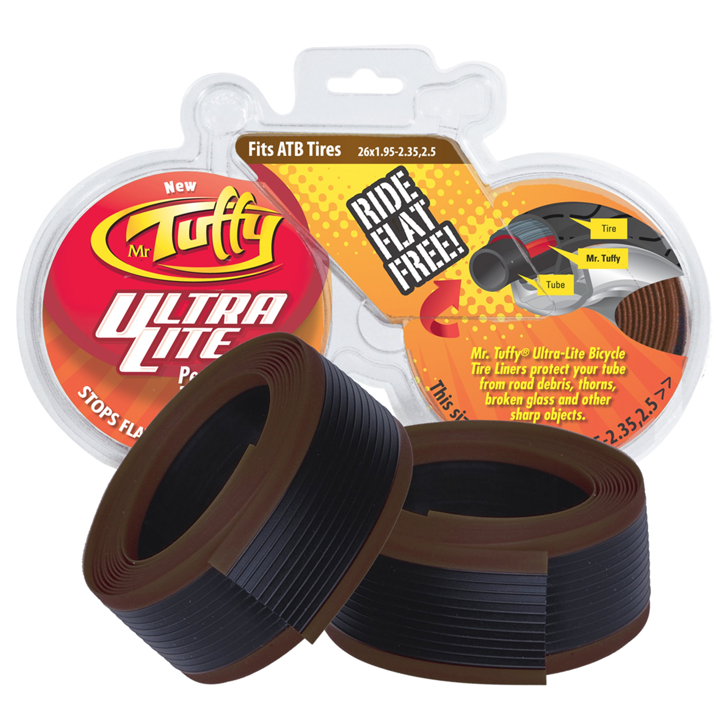 "Mr. Tuffy Ultra Lite Tire Liners 26"" x 1.95"""
