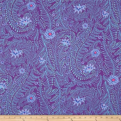 KAFFE FASSETT COLLECTIVE  Row Flowers G 100/% cotton fabric Patchwork Quilting