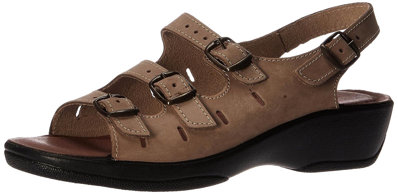 Spring Step Women's Willa Wedge Sandal B00BLQBAVK 35 M EU / 5 B(M) US|Beige