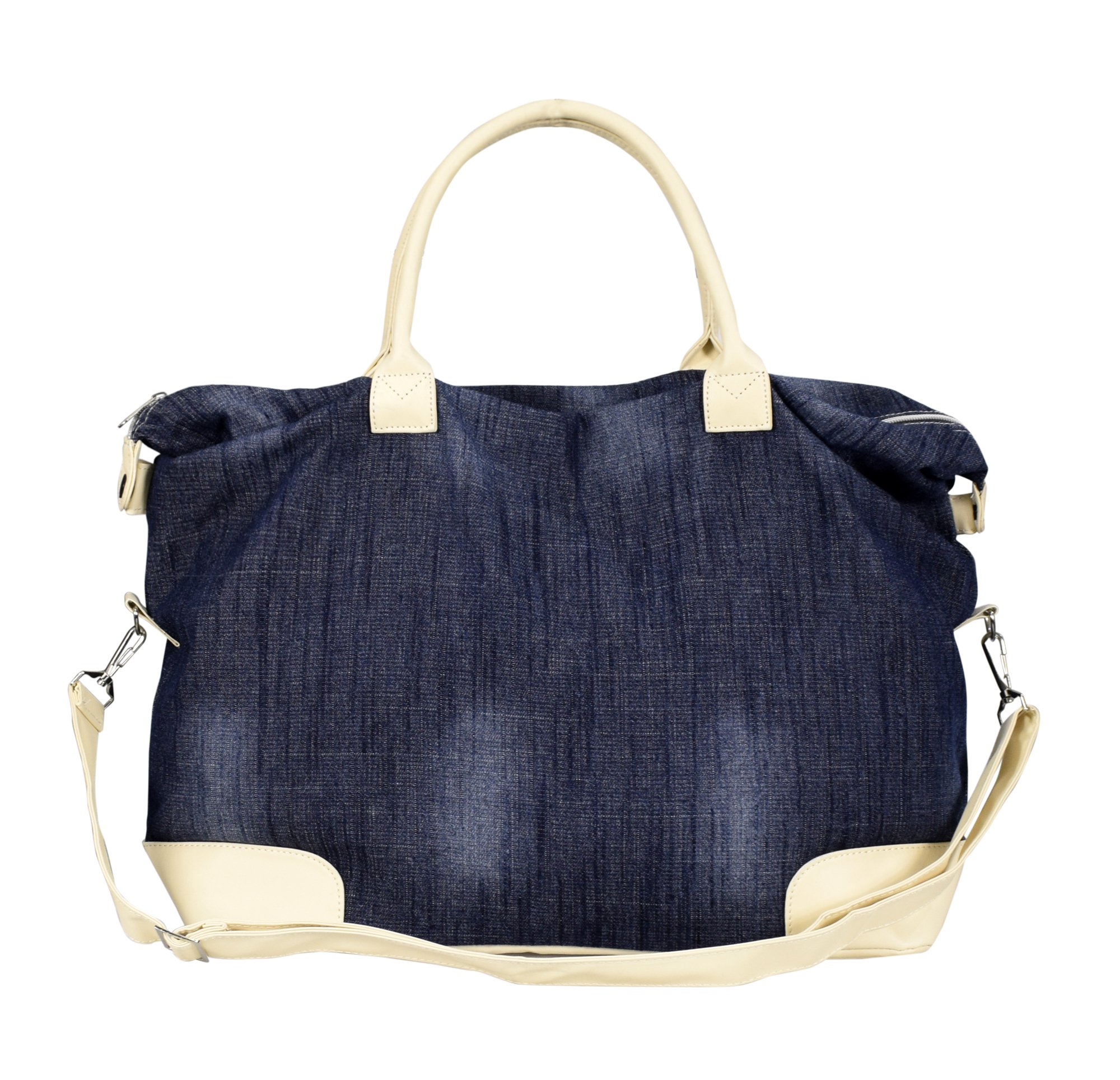 d099e1d58e Peach Couture Denim Jeans Handbags Hobos Large Travel Tote Bags ...