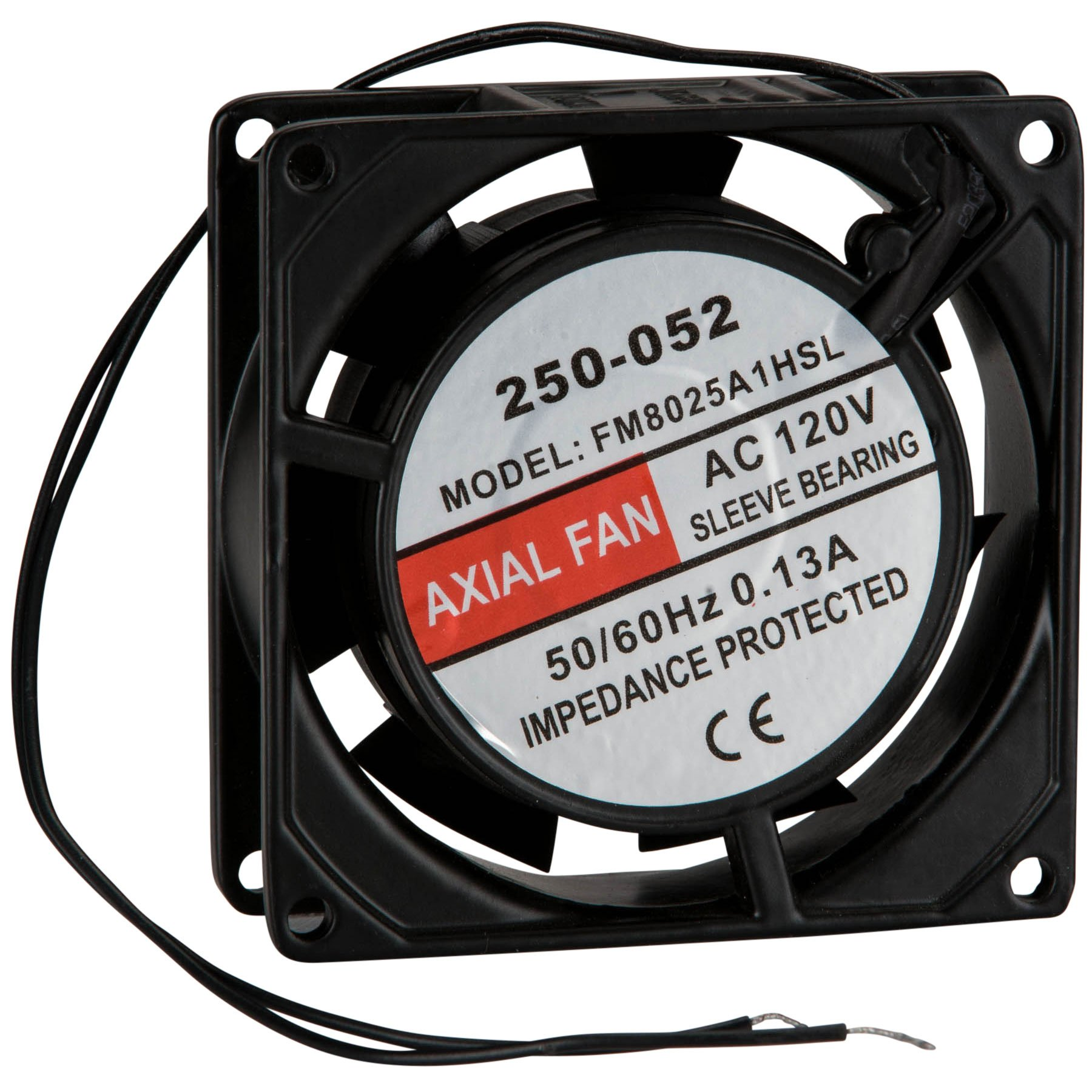 Parts Express Muffin Style Axial Cooling Fan 120 VAC 80 x 80 x 25mm 18 CFM