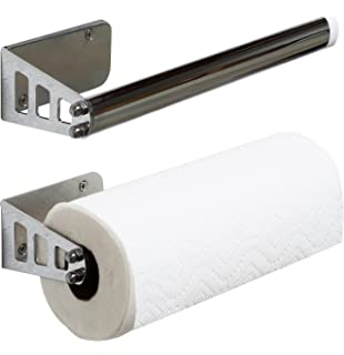 DecoBros Wall Mount Paper Towel Holder  Chrome. Amazon com   simplehuman Wall Mount Paper Towel Holder  Stainless