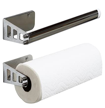 Amazoncom Decobros Wall Mount Paper Towel Holder Chrome