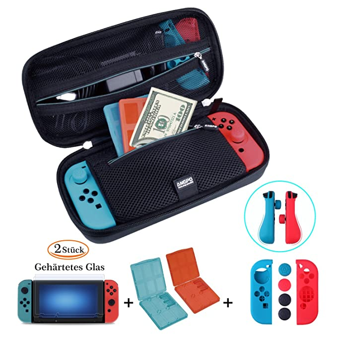 25 opinioni per 【Kit Custodia per Nintendo Switch】 Custodia per Nintendo Switch e Borsa per