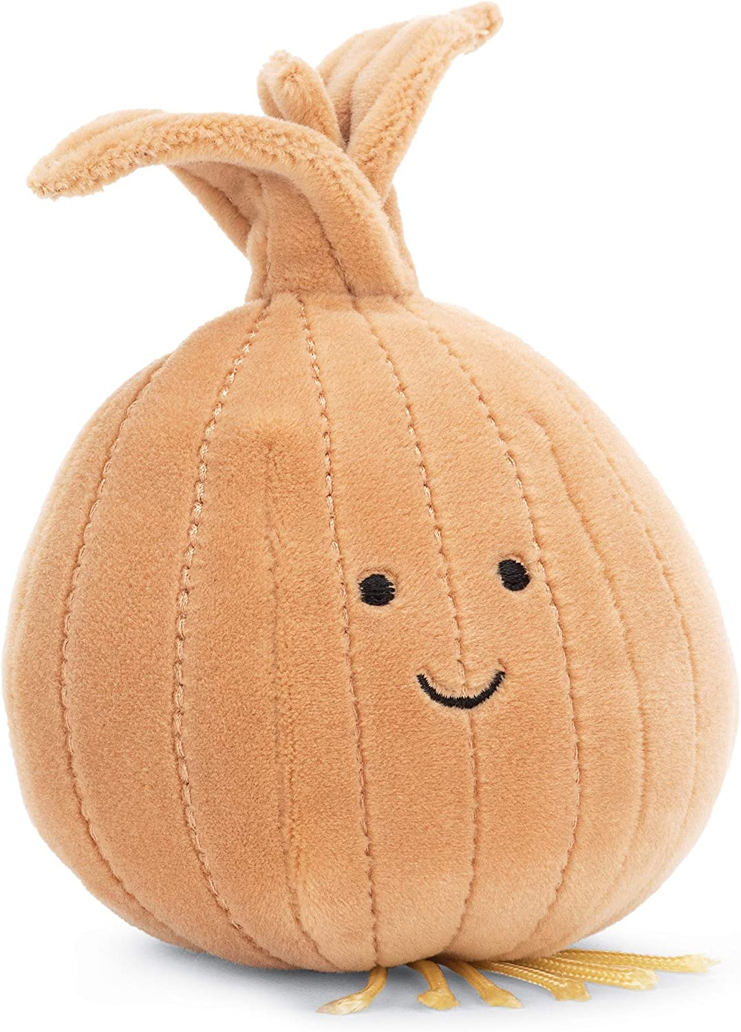Jellycat Vivacious Vegetables Onion Food Plush, 5 inches