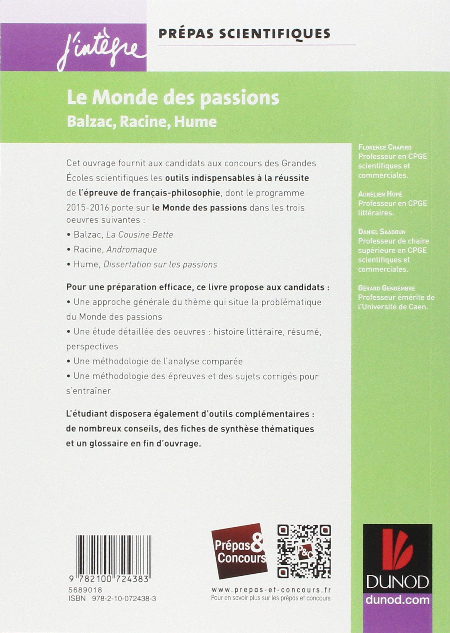 sujet dissertation passion cpge