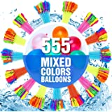 555 PCS Water Balloons-Water Balloons Bulk-Water Bombs- Water Balloons Slingshot-Water Balloons Fight- Water Balloons for Kid