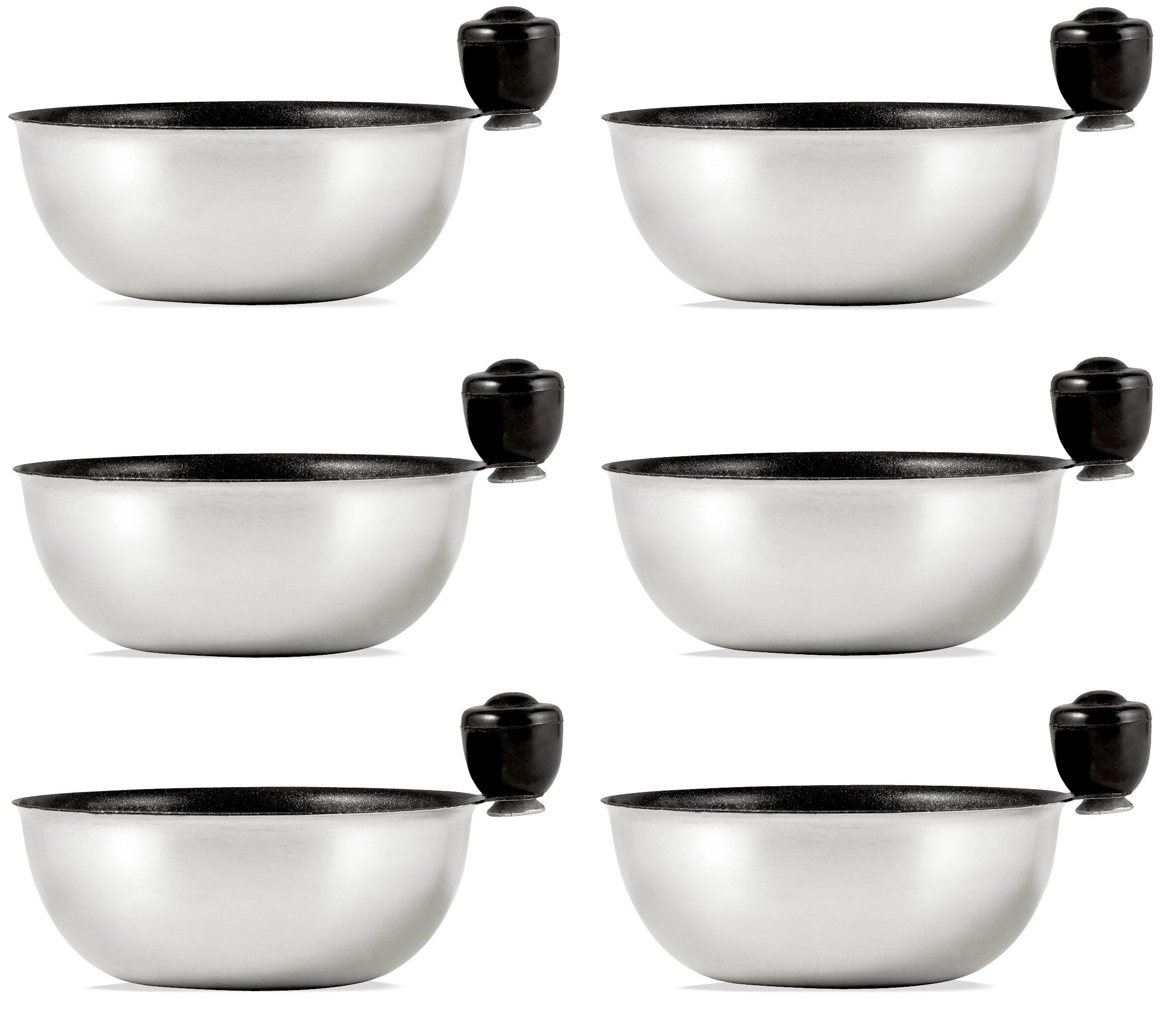 Eggssentials Egg Poacher Replacement Spare Stainless Steel Anti-Stick PFOA Free Individual Removable Poaching Cups (6)