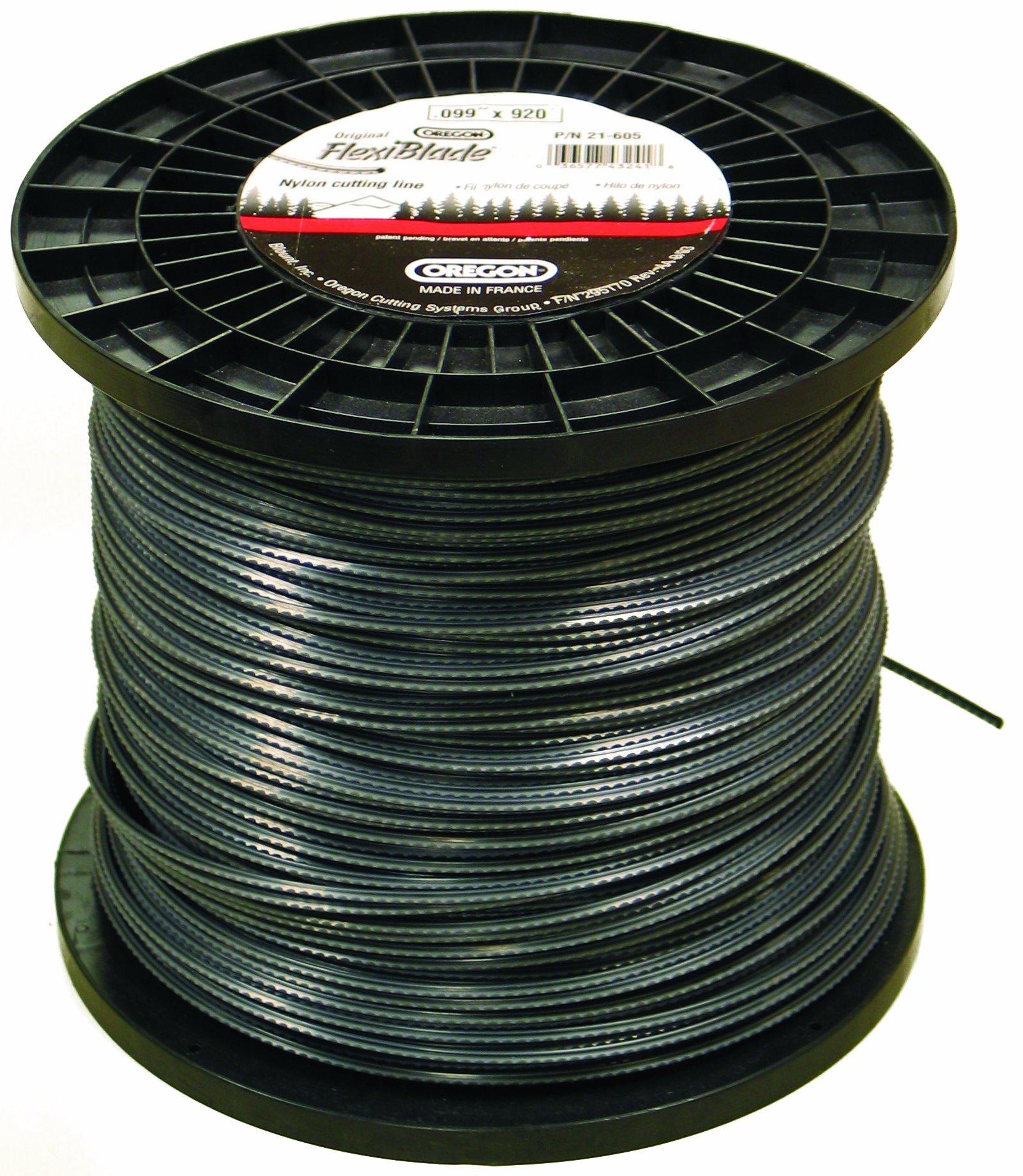 Oregon 21-605 FlexiBlade 920-Feet Large Spool of String Trimmer Line 0.099-Inch Gauge