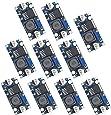 Valefod 10 Pack DC to DC High Efficiency Voltage Regulator 3.0-40V to 1.5-35V Buck Converter DIY Power Supply Step Down Module