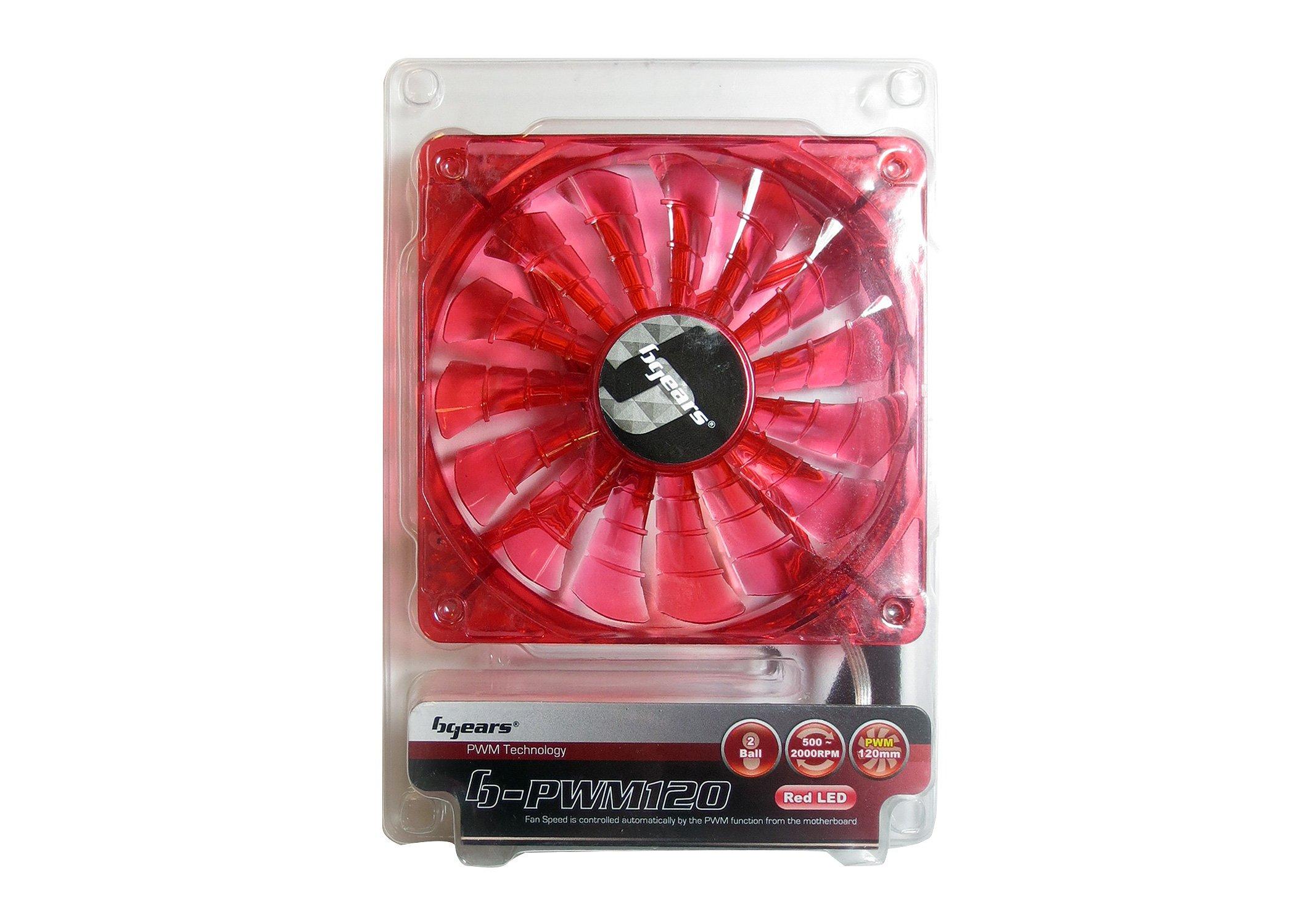 Fan Cooler Bgears 120mm High Performance PWM Technology - Tr