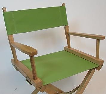 Sunbrellaï Directors Chair Replacement Cover (FLAT STICK)   Gingko