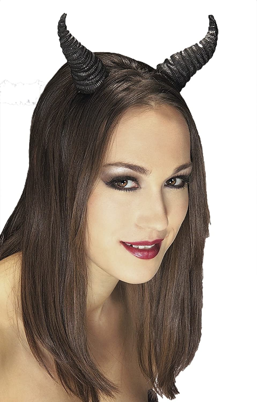 Rubie's Costume Co Black Beast Horns Rubie' s Black Beast Horns Multi One Size Rubies Costumes - Apparel