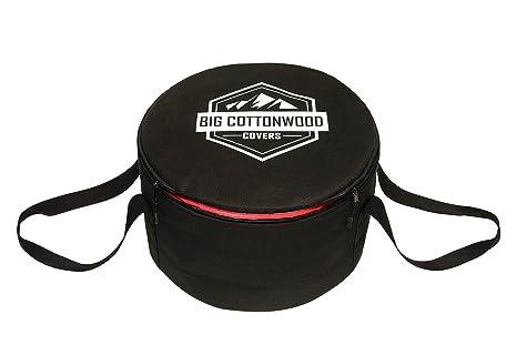 Amazon.com: Big Cottonwood Funda para horno holandesa, bolsa ...