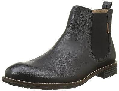 Mens Huntington Chelsea Boots, Schwarz (Regular Black) Levi's