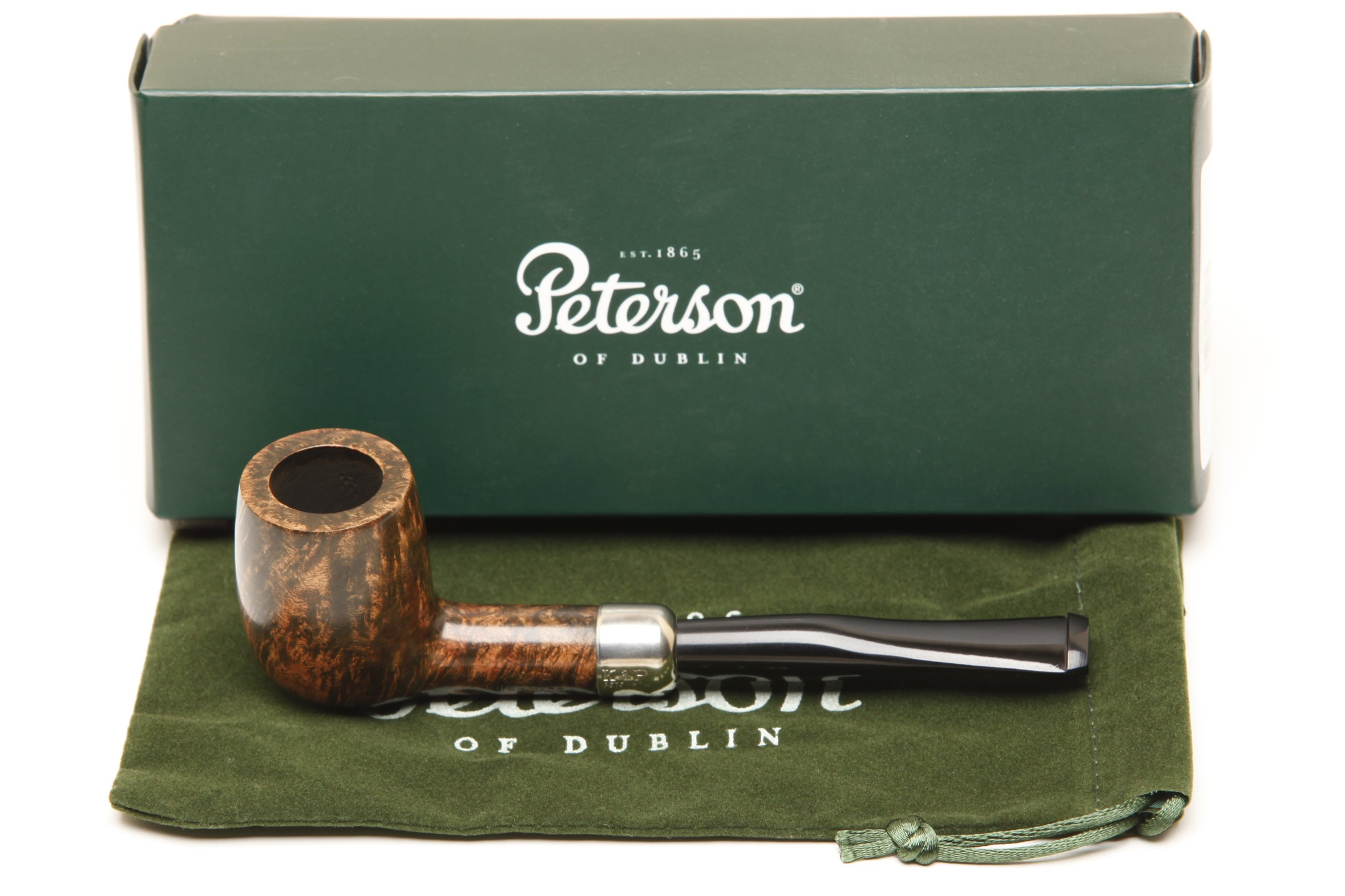 Peterson Irish Made Army 102 Tobacco Pipe - Fishtail by Peterson (Image #1)