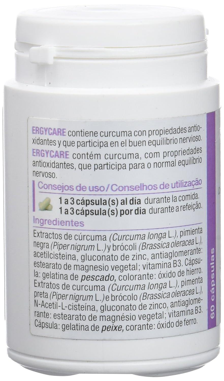 Nutergia Ergycare Complemento Alimenticio - 60 Cápsulas: Amazon.es: Salud y cuidado personal