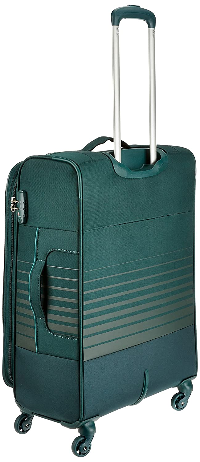VIP Polyester 46 cms Emerald Green Softsided Suitcase (STORBW72EGN)   Amazon.in  Bags 0a2ea4c919fe3