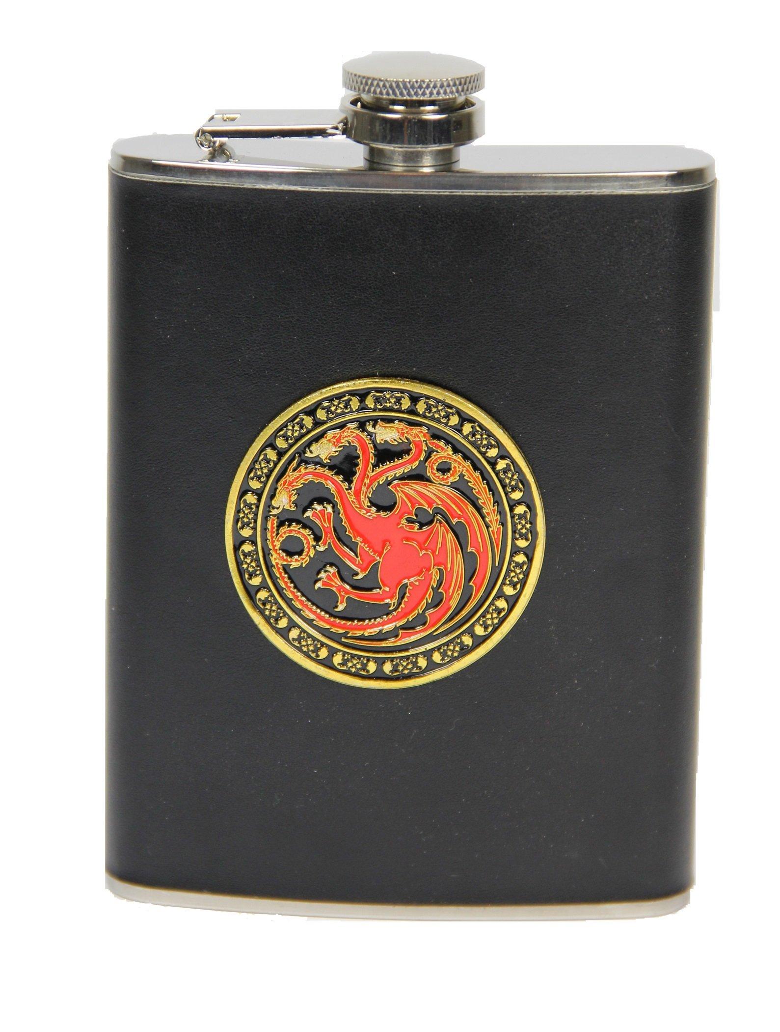 Game of Thrones Targaryan 8 ounce Hip Flask
