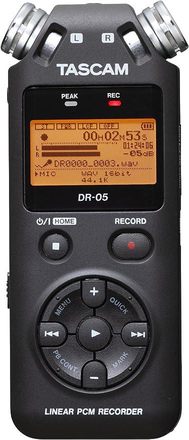 Tascam DR-05V2 - Dictáfono, Grabadora de Voz + Micro Sd 4Gb Gratis ...
