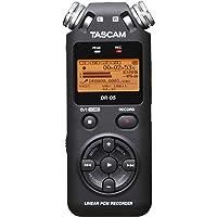 Tascam DR-05V2 - Dictáfono, Grabadora de Voz + Micro Sd 4Gb Gratis, Versión 2,  Negro