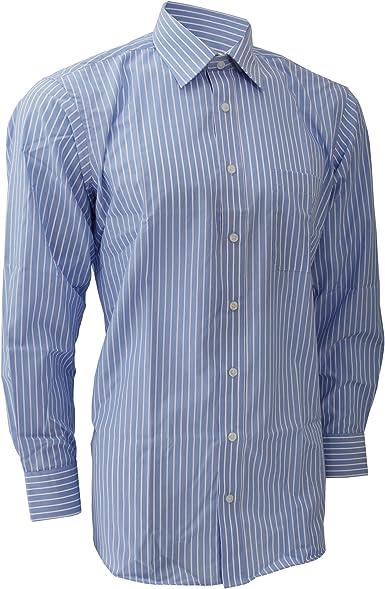 Brook Taverner - Camisa de manga corta Modelo Rufina para hombre caballero - Trabajo/Boda/Fiesta: Amazon.es: Ropa y accesorios
