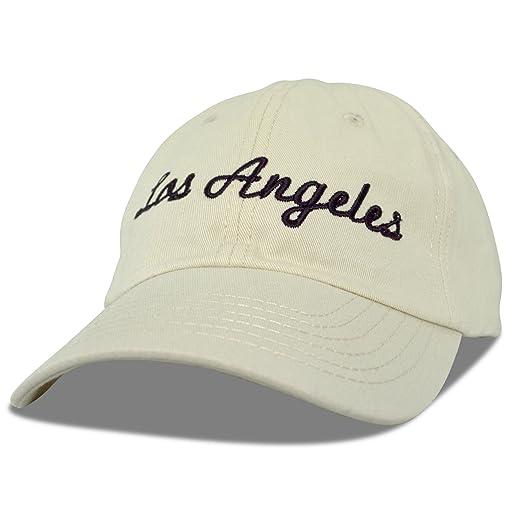ac0d5f4a Amazon.com: DALIX Los Angeles Baseball Cap Mens Womens Hats LA in ...