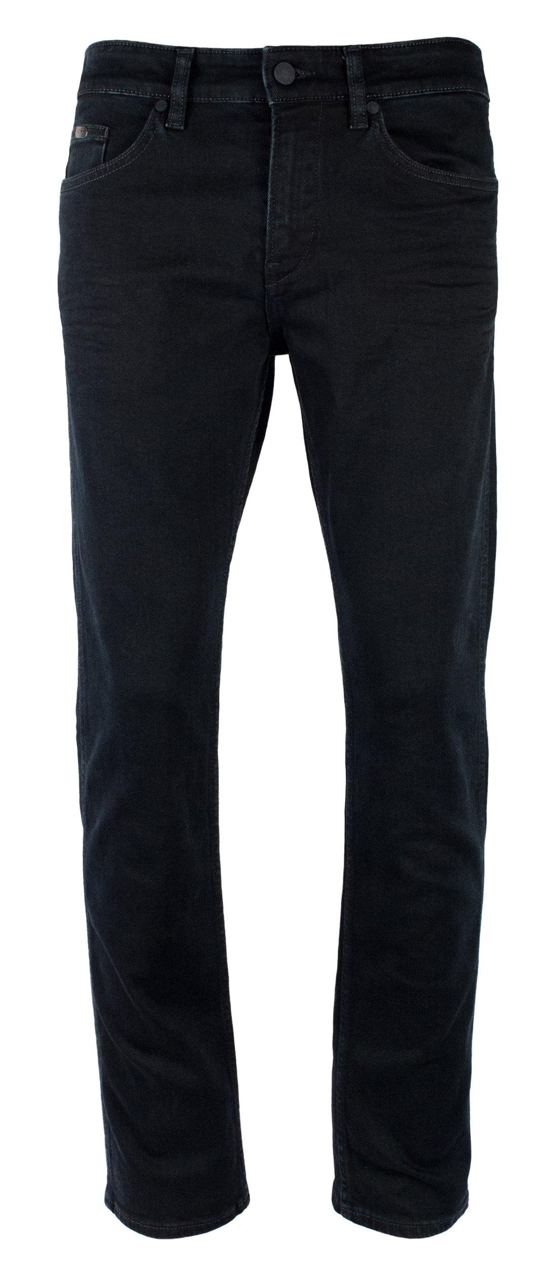 Hugo Boss Men's Delaware Green Label Stretch Slim Fit Jeans-B-36Wx32L by HUGO BOSS