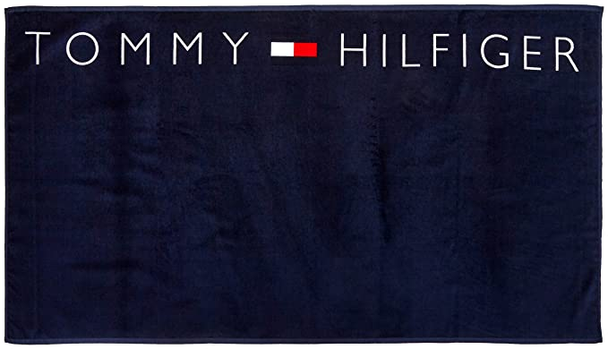 exclusive shoes reasonably priced wholesale online Tommy Hilfiger Herren Logo Towel Handtuch, Mehrfarbig (Navy ...