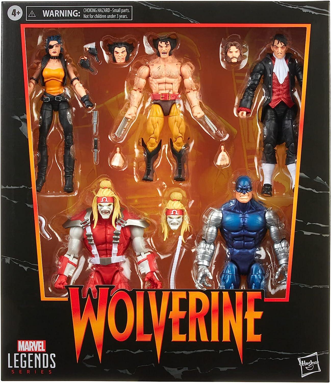 HASBRO : Marvel Legends - Wolverine vs. Villains 5-Pack - Amazon Exclusive 2021 81pkxuM2VlS._AC_SL1500_