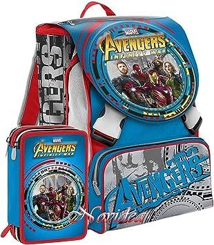 School Pack Seven – Mochila Escolar Avengers Infinity War ...