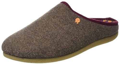 Gioseppo 46786-P, Zapatillas de Estar por casa con talón Abierto para Hombre, Marron, 40 EU: Amazon.es: Zapatos y complementos