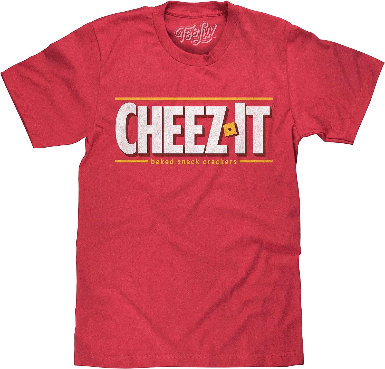 Tee Luv Cheez-It Logo Shirt