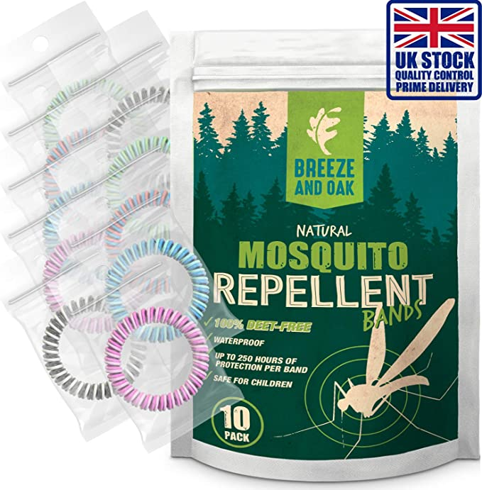 Repelente de mosquitos pulsera - doble colores repelente de ...