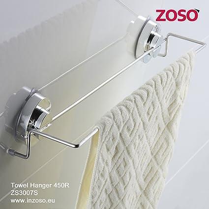 Percha de toallas 450R - ZOSO - Productos de ventosa super potentes